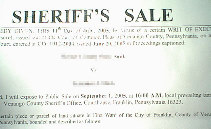 Sheriff's Sale photo 1